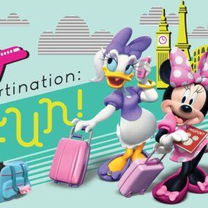Posters Fototapeta Disney Minnie Mouse 254x184 cm - 115g/m2 Paper - Posters