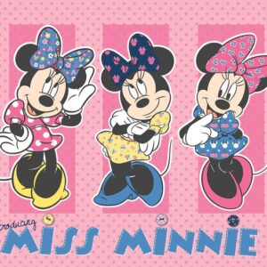 Posters Fototapeta Disney Minnie Mouse 416x254 cm - 130g/m2 Vlies Non-Woven - Posters
