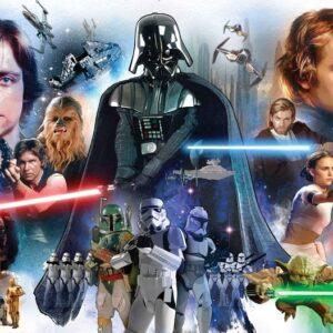 Posters Fototapeta Star Wars 104x70.5 cm - 130g/m2 Vlies Non-Woven - Posters