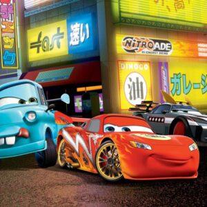 Posters Fototapeta Disney Cars Lightning McQueen 104x70.5 cm - 130g/m2 Vlies Non-Woven - Posters