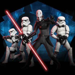 Posters Fototapeta Star Wars Rebels Inquisitor Sith 254x184 cm - 115g/m2 Paper - Posters
