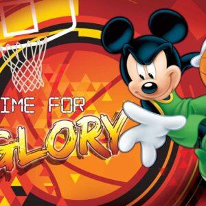Posters Fototapeta Disney Mickey Mouse 250x104 cm - 130g/m2 Vlies Non-Woven - Posters