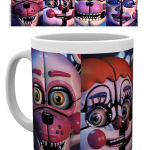 Posters Hrnek Five Nights At Freddy's - Sister Location Faces - Posters