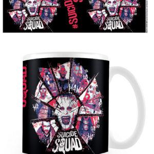 Posters Hrnek Sebevražedný oddíl - Suicide Squad - Cracked - Posters