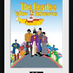 Posters The Beatles - Yellow Submarine rám s plexisklem - Posters