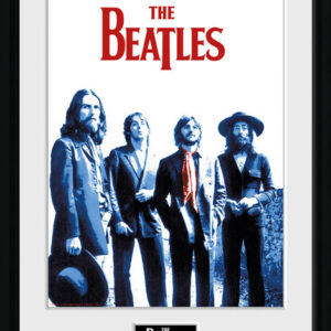 Posters The Beatles - Red Scarf rám s plexisklem - Posters