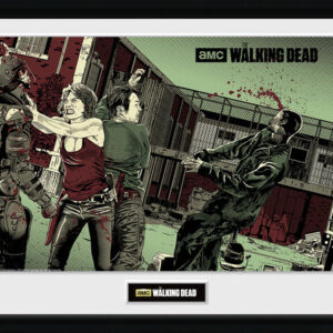 Posters The Walking Dead - Maggie Glen rám s plexisklem - Posters