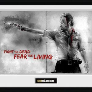 Posters The Walking Dead - Rick rám s plexisklem - Posters