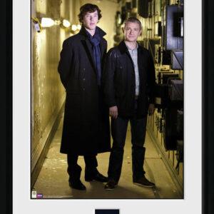 Posters Sherlock - & Watson Portrait rám s plexisklem - Posters