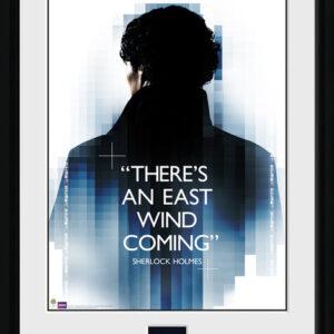 Posters Sherlock - East Wind rám s plexisklem - Posters
