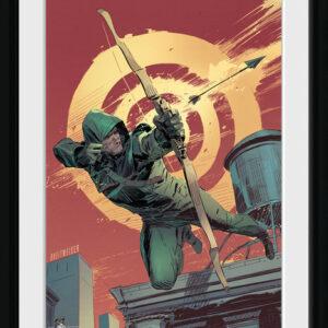 Posters Arrow - Comic Red rám s plexisklem - Posters