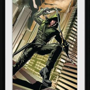 Posters Arrow - Cover Green rám s plexisklem - Posters
