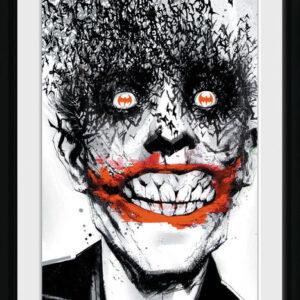 Posters Batman Comic - Joker rám s plexisklem - Posters