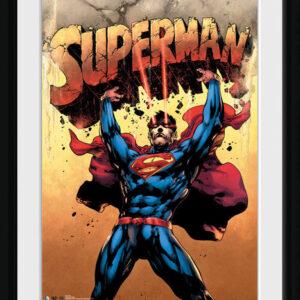 Posters Superman - Strength rám s plexisklem - Posters