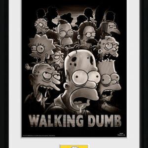 Posters Simpsonovi - The Walking Dumb rám s plexisklem - Posters