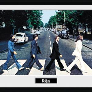 Posters The Beatles - Abbey Road rám s plexisklem - Posters
