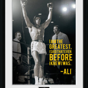 Posters Muhammad Ali - I Am The Greatest rám s plexisklem - Posters