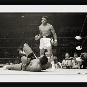 Posters Muhammad Ali - Liston rám s plexisklem - Posters