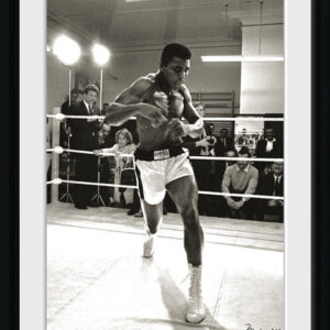 Posters Muhammad Ali - Spar rám s plexisklem - Posters