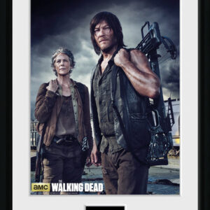 Posters The Walking Dead - Carol and Daryl rám s plexisklem - Posters