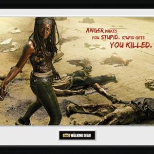 Posters The Walking Dead - Michonne Kill rám s plexisklem - Posters
