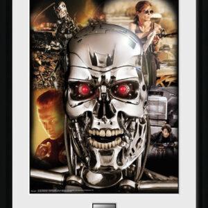 Posters Terminator 2 - Collage rám s plexisklem - Posters