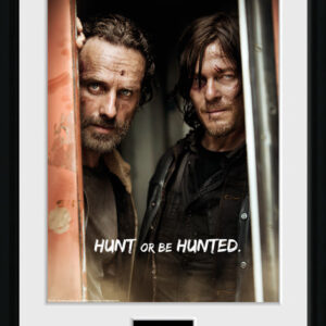 Posters The Walking Dead - Rick and Daryl rám s plexisklem - Posters