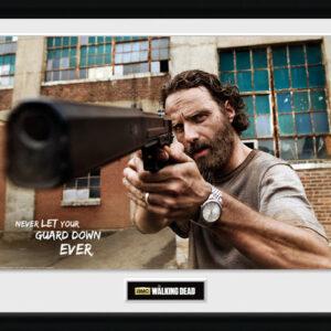 Posters The Walking Dead - Rick Gun rám s plexisklem - Posters
