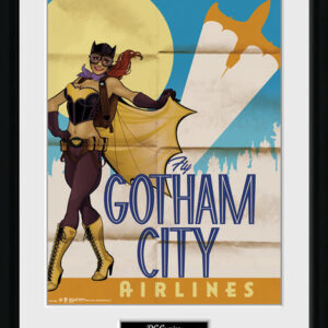 Posters DC Comics - Batgirl Bombshells rám s plexisklem - Posters