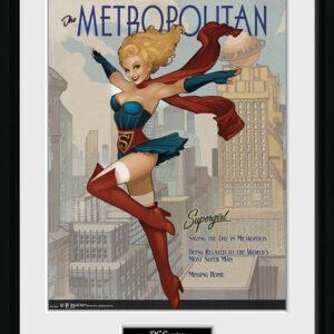 Posters DC Comics - Supergirl Bombshells rám s plexisklem - Posters