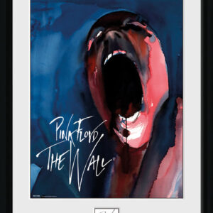 Posters Pink Floid: The Wall - Scream rám s plexisklem - Posters