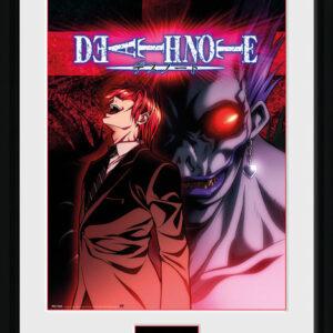 Posters Death Note: Zápisník smrti - Light & Ryuk rám s plexisklem - Posters