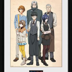 Posters Tokyo Ghoul - Antique rám s plexisklem - Posters