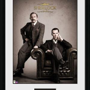 Posters Sherlock - Victorian rám s plexisklem - Posters