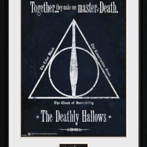 Posters Harry Potter - The Deathly Hallows rám s plexisklem - Posters