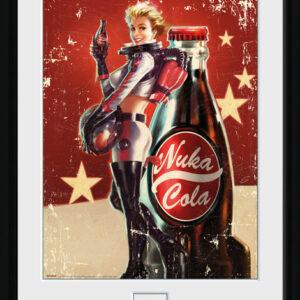 Posters Fallout 4 - Nuka Cola rám s plexisklem - Posters