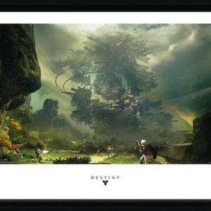Posters Destiny - The Fortress rám s plexisklem - Posters
