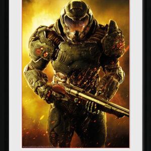 Posters Doom - Marine rám s plexisklem - Posters