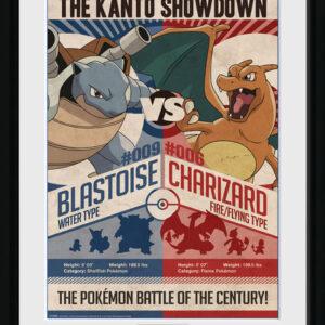 Posters Pokemon - Red V Blue rám s plexisklem - Posters