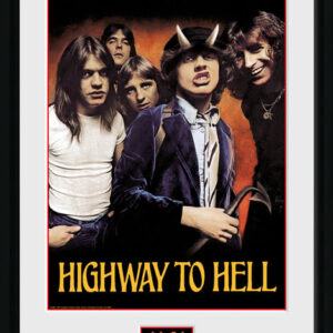 Posters AC/DC - Highway to Hell rám s plexisklem - Posters