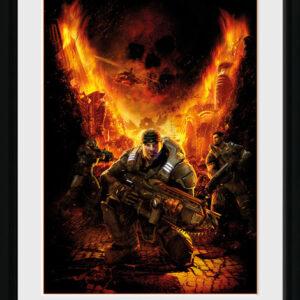Posters Gears of War - Gears 1 rám s plexisklem - Posters