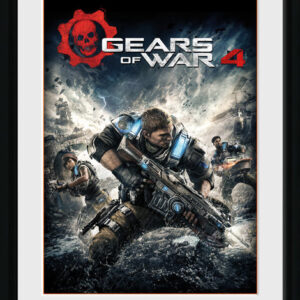 Posters Gears of War 4 - Game Cover rám s plexisklem - Posters