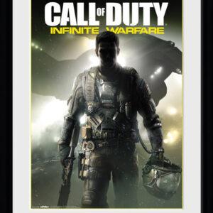 Posters Call of Duty Infinite Warfare - Key Art rám s plexisklem - Posters