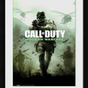 Posters Call of Duty Modern Warfare - Key Art rám s plexisklem - Posters