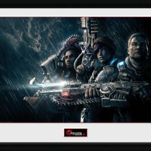 Posters Gears of War 4 - Landscape rám s plexisklem - Posters