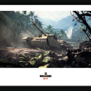 Posters World of Tanks - Forest Tanks rám s plexisklem - Posters