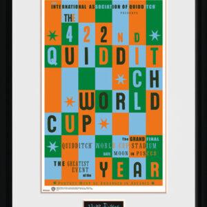 Posters Harry Potter - Quidditch World Cup rám s plexisklem - Posters