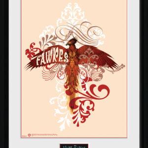 Posters Harry Potter - Fawkes rám s plexisklem - Posters