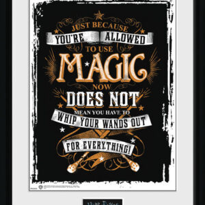 Posters Harry Potter - Wands Out rám s plexisklem - Posters
