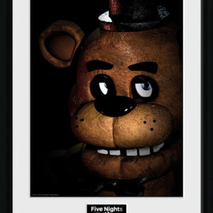 Posters Five Nights at Freddys - Fazbear rám s plexisklem - Posters
